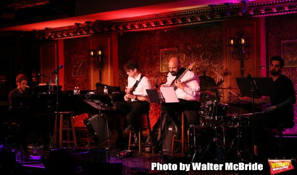 Jackie Evancho Band:Jorn Swart on piano, Horace Bray on Guitar, Alika Lyman on Ba Photo