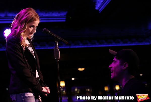 Photo Coverage: Jackie Evancho In Rehearsal for THE DEBUT