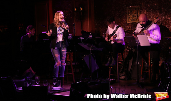 Jackie Evancho with Band:Jorn Swart on piano, Horace Bray on Guitar, Alika Lyman  Photo