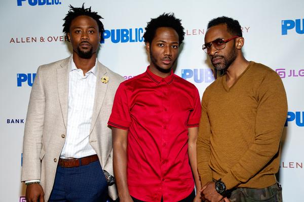 Khiry Walker, Hubert Point-Du Jour, Jaime Lincoln Smith Photo
