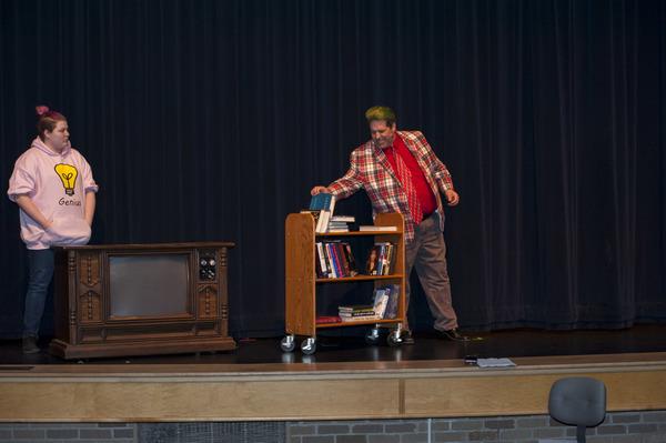 Telly Madison Donegan (Michael) & (Phil Smith) Mr. Wormwood