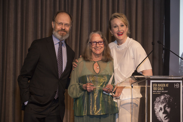 David Hyde Pierce, Rochelle Oliver, and Katie Finneran Photo