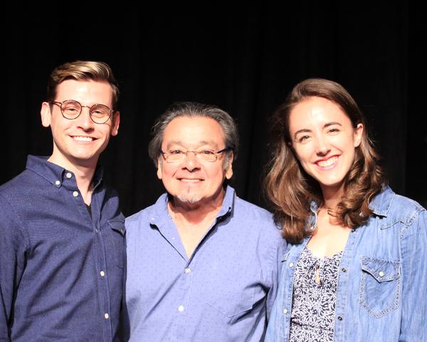 Joseph Hayward, Bill Castellino, Victoria Cassillo