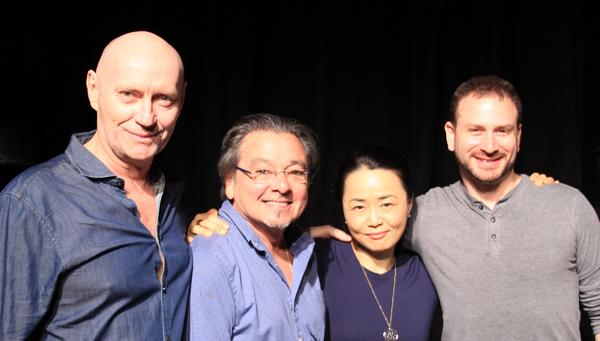 Jamie Jackson, Bill Castellino, SoHee Youn, Dan Pardo Photo