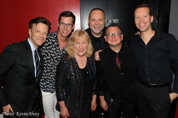 Jim Caruso, Drew Wutke, Christina Crawford, Paul Page, David Nehls, Eugene Ebner Photo