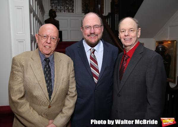 Albert Bergeret, Rupert Holmes and Richard Holmes Photo