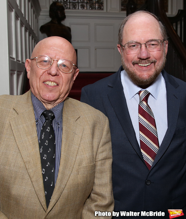 Albert Bergeret and Rupert Holmes Photo