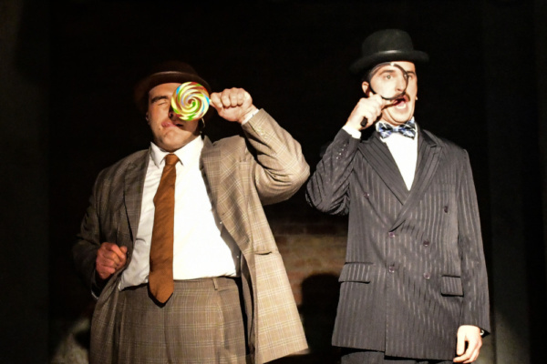 Photo Flash: Inside Look at Underscore Theatre's THE BALLAD OF LEFTY & CRABBE