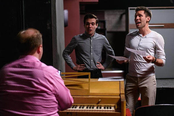 Photo Flash: First Look At The Musical ALL THAT HE WAS At Pride Arts Center