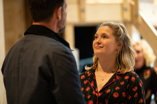 Photo Flash: Inside Rehearsal For NOISES OFF at Lyric Hammersmith