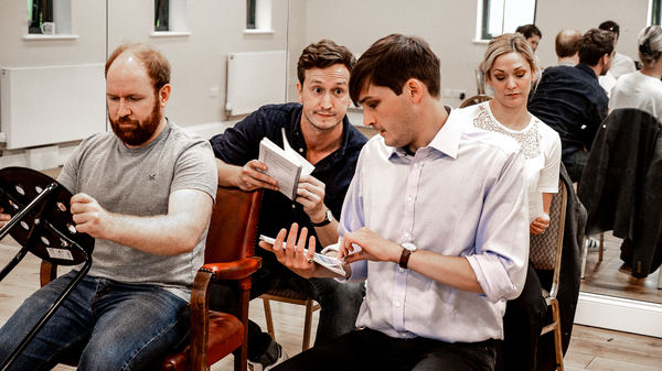 Photos: Inside Rehearsal For THE 39 STEPS at The Barn Theatre
