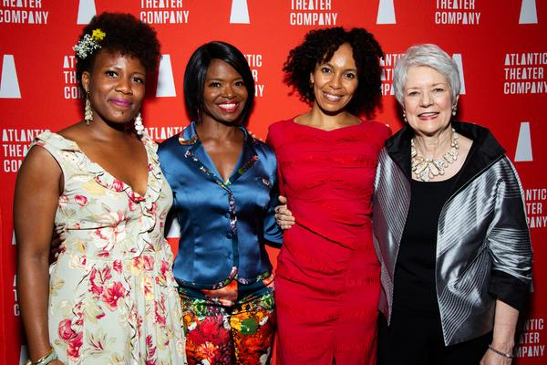 Anastacia McCleskey, LaChanze, Eisa Davis, Sue Monk Kidd Photo