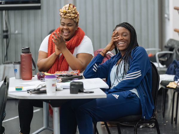 Photo Flash: In Rehearsal with the Leicester Curve and Birmingham Hippodrome's THE COLOR PURPLE