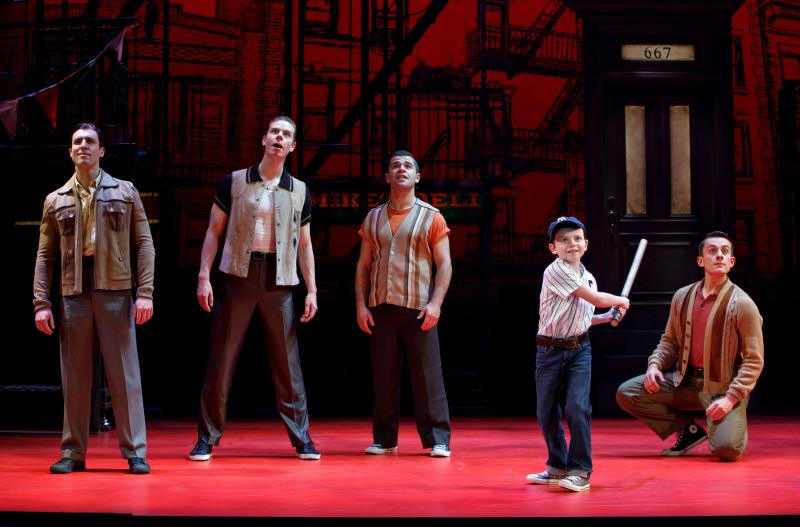 BWW Review: BRONX TALE at the Broward Center for the Performing Arts Has Heart!