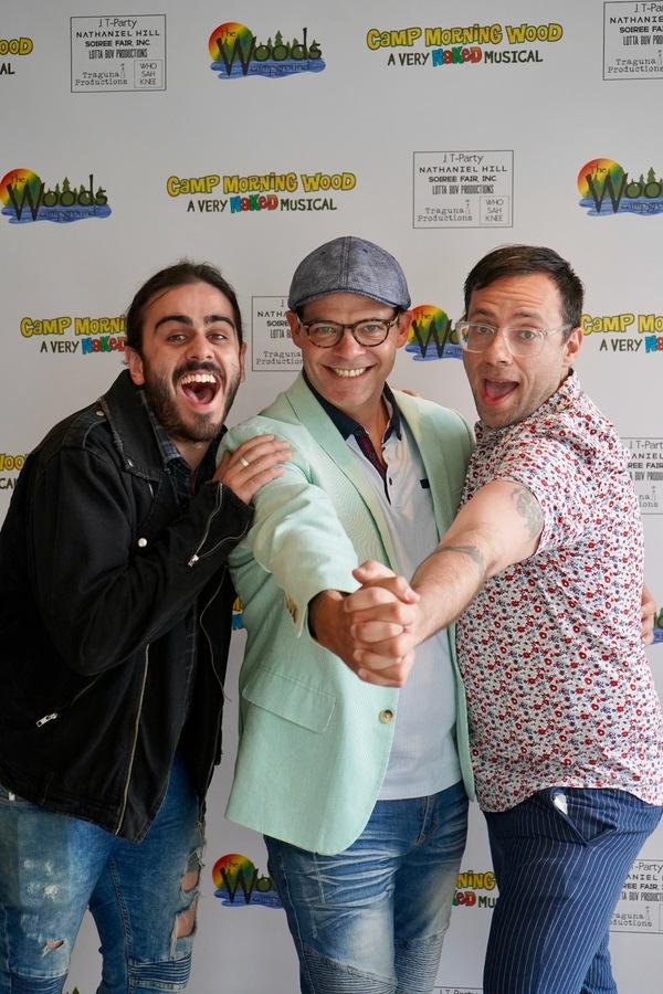 MATT GUMLEY, BOBBY CRONIN and MARC EARDLEY Photo