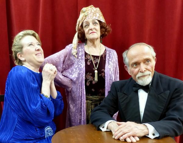 Michele Selin, Joanna Churgin, George Kondreck Photo
