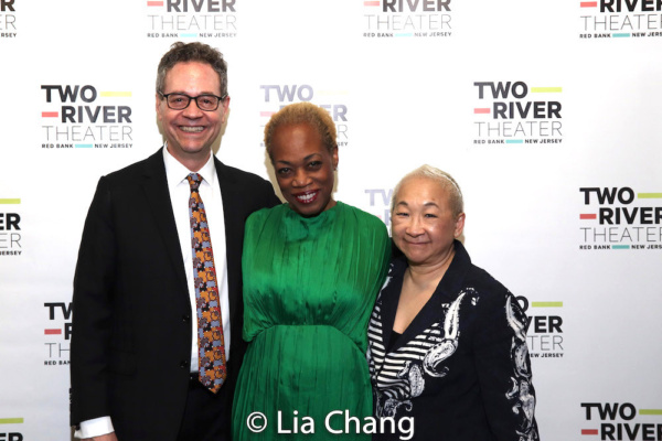 Mark Sendroff, Regina Taylor and Lori Tan Chinn