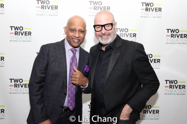 Director Ruben Santiago-Hudson and Scenic Designer Michael Carnahan Photo