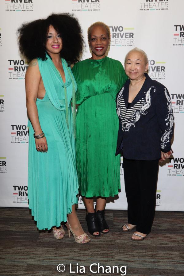 Vida Landron, Regina Taylor and Lori Tan Chinn  Photo