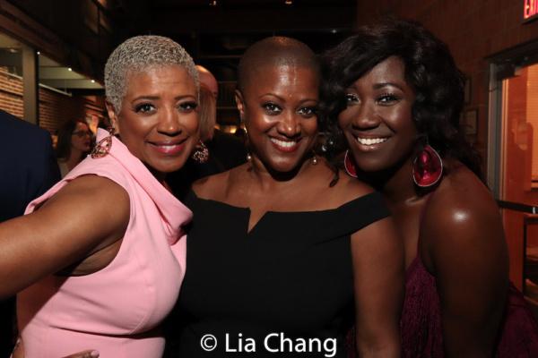 Marva Hicks, Monica J. Palmer and Amber Iman