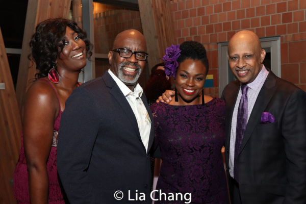 Amber Iman, Kenneth L. Roberson, Stacey Sargeant and Ruben Santiago-Hudson