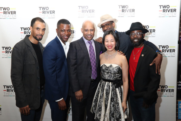 James Holloway, Chesney Snow, Ruben Santiago-Hudson, Lia Chang, Brian D. Coats and Ch Photo
