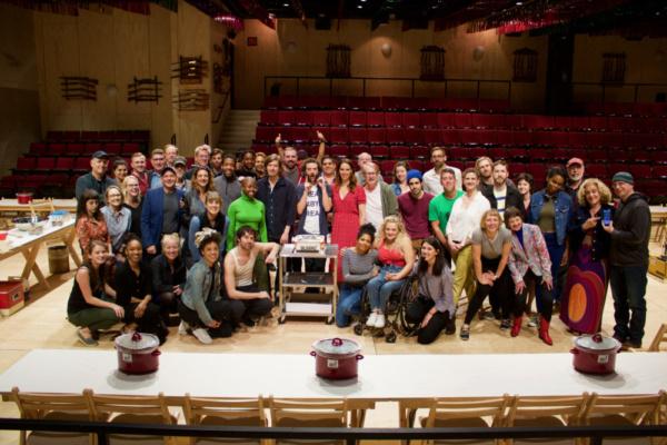 Photo Flash: OKLAHOMA! Celebrates its 100th Performance on Broadway