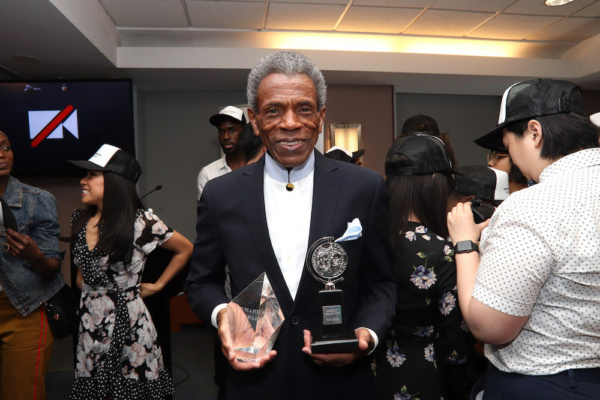 2019 Richard Seff Award winner and 2019 Tony Award winner Andre De Shields