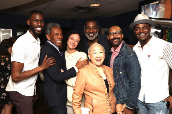 Malcolm Armwood, 2019 Richard Seff Award winner and 2019 Tony Award winner Andre De Shields, Amber Gray, Lori Tan Chinn, Norm Lewis, T. Oliver Reid and Ahmad Simmons