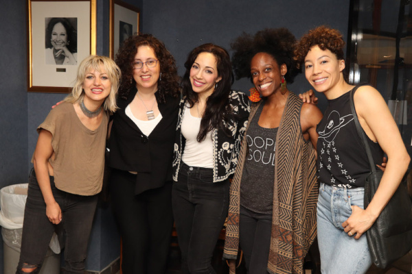 Anais Mitchell, Mara Isaacs, Yvette Gonzalez-Nacer, KImberly Marable and Afra Hines