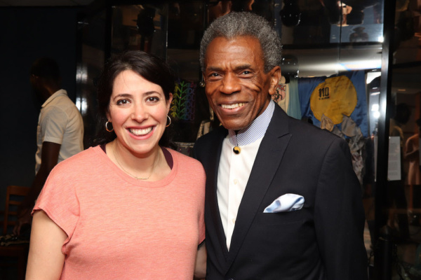 2019 Tony Award winner Rachel Chavkin and 2019 Richard Seff Award winner and 2019 Tony Award winner Andre De Shields