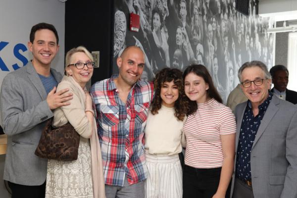 Tony winner Santino Fontana, Julie Halston, 2019 Clarence Derwent Award winner Sarah  Photo