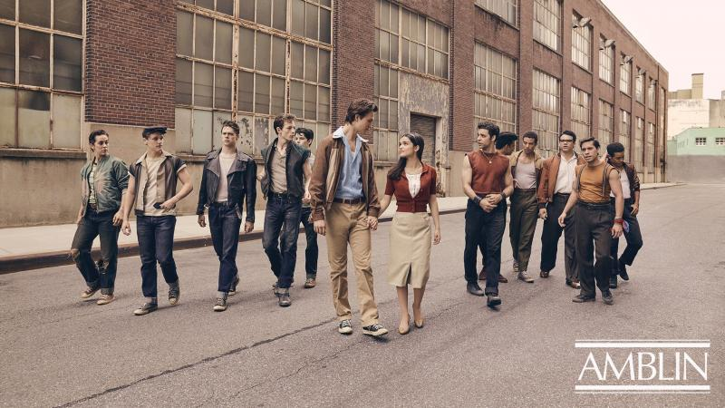 Photo Flash: Something's Coming... Get a First Look at Rachel Zegler, Ansel Elgort, and the Cast of the Upcoming WEST SIDE STORY Film!