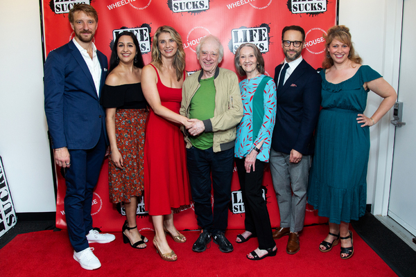 Michael Schantz, Kimberly Chatterjee, Nadia Bowers, Austin Pendleton, Barbara Kingsle Photo