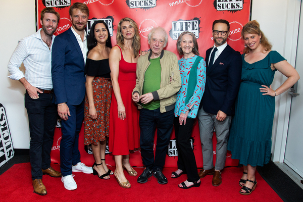 Jeffrey Wise, Michael Schantz, Kimberly Chatterjee, Nadia Bowers, Austin Pendleton, B Photo