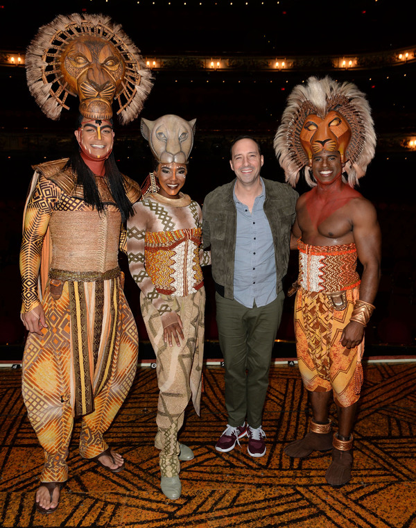 Photo Flash: Tony Hale Attends Toronto Opening of THE LION KING
