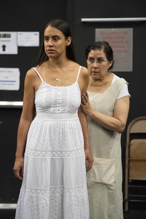 Sabina Zuniga Varela and Socorro Santiago