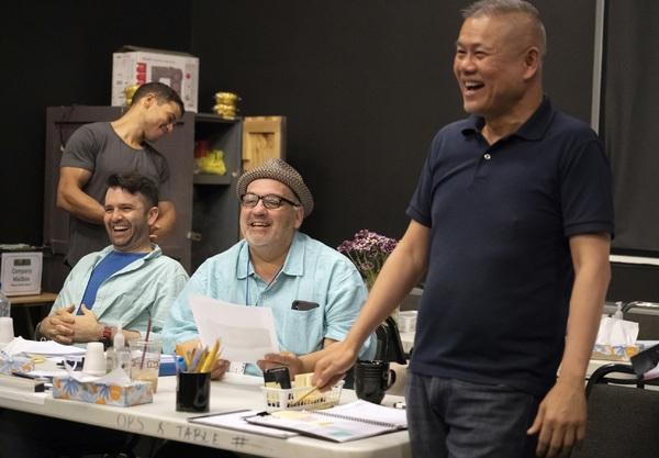 Alex Hernandez, Graham Schmidt, ]Luis Alfaro, and Chay Yew