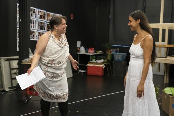 Vanessa Aspillaga and Sabina Zuniga Varela Photo
