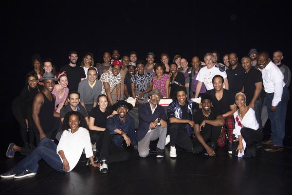 Photo Flash: AIN'T TOO PROUD Celebrates 100th Broadway Performance!