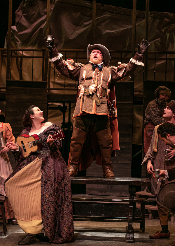 Photo Flash: THE THREE MUSKETEERS At The Shakespeare Theatre of New Jersey
