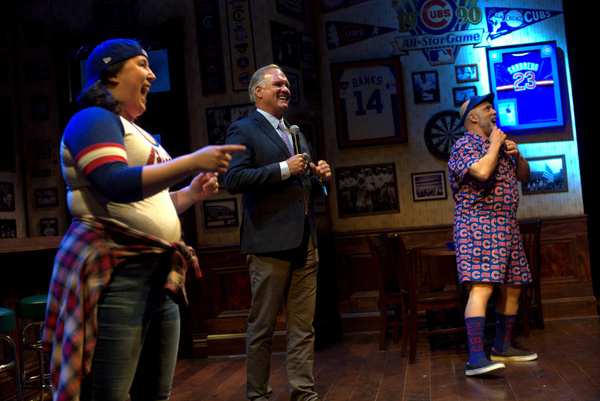 Photos: Notable Guests Step Up To The Plate At Cubs- Inspired Musical MIRACLE