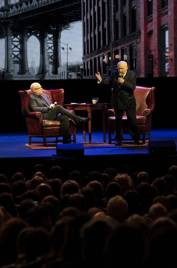 Photo Flash: Mel Brooks Takes Up Residency on Broadway