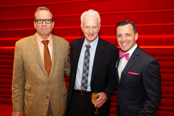 Manhattan Theatre Club Executive Producer Barry Grove, producer Tom Viertel, Building for the Arts Chief of Staff Josh Landay