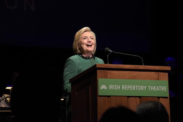 Photo Flash: Irish Rep Honors President Bill Clinton At 30th Anniversary Gala
