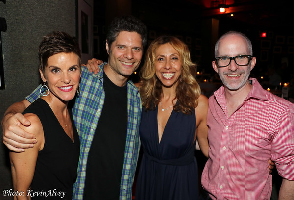 Jenn Colella, Tom Kitt, Amanda Green, Curtis Moore Photo