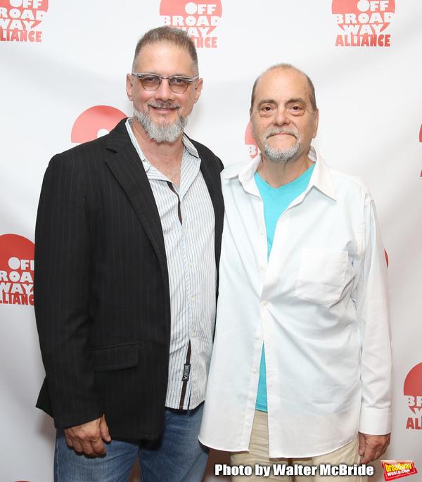 Lou Moreno and Eduardo Machado Photo