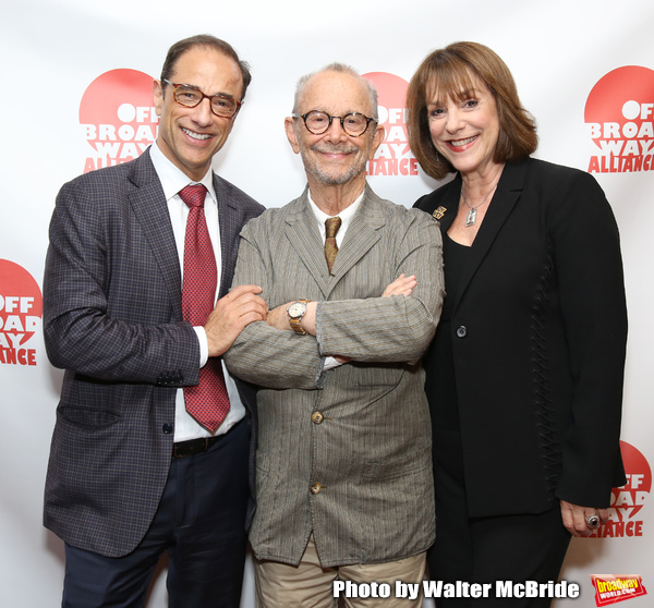 Hal Luftig, Joel Grey and Jana Robbins Photo