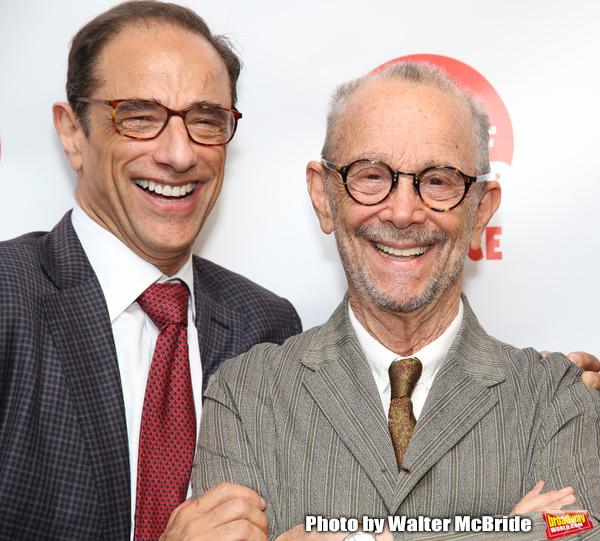 Hal Luftig and Joel Grey Photo