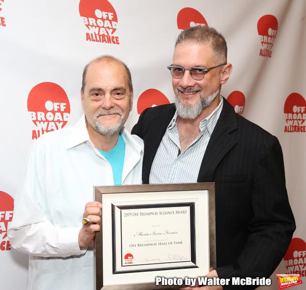 Eduardo Machado and Lou Moreno
